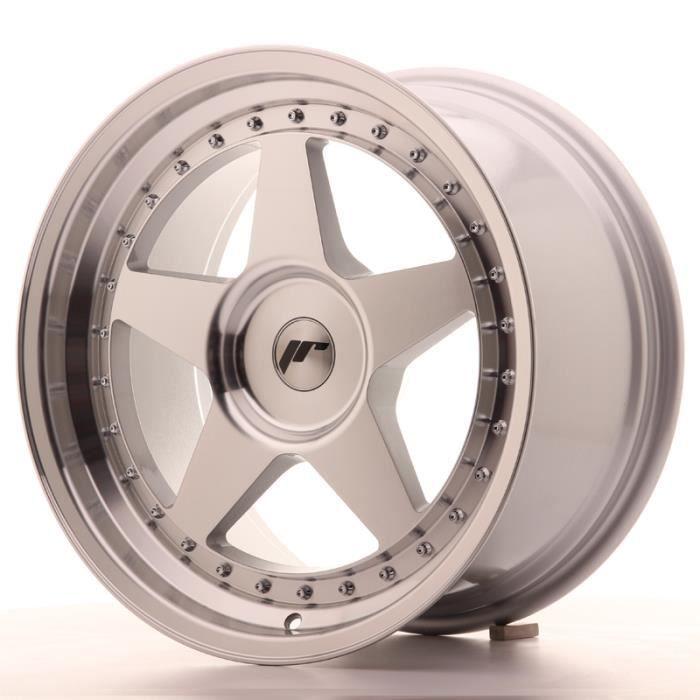 Jante Alu 18- Japan Racing JR6 18x9,5 ET20-40 Blank Silver Machi