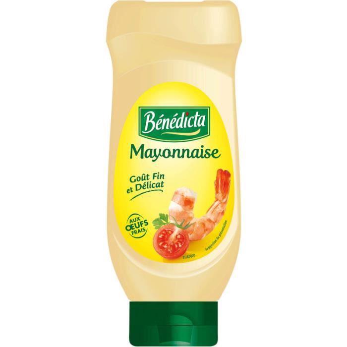 BENEDICTA Mayonnaise nature - 585 g