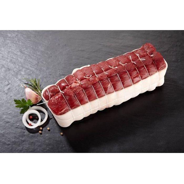 Rôti de Filet de bœuf - les 3 pièces d'environ 950 grammes