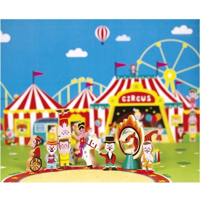 Figurines Mini Story : Cirque aille Unique Coloris Unique