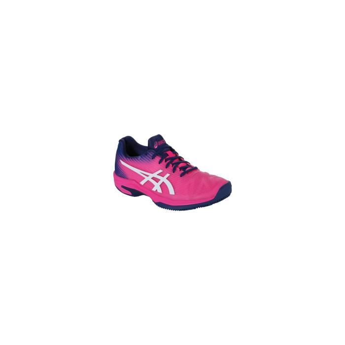 Chaussures ASICS Femme Solution Speed FF Clay Rose / Indigo AH 2018