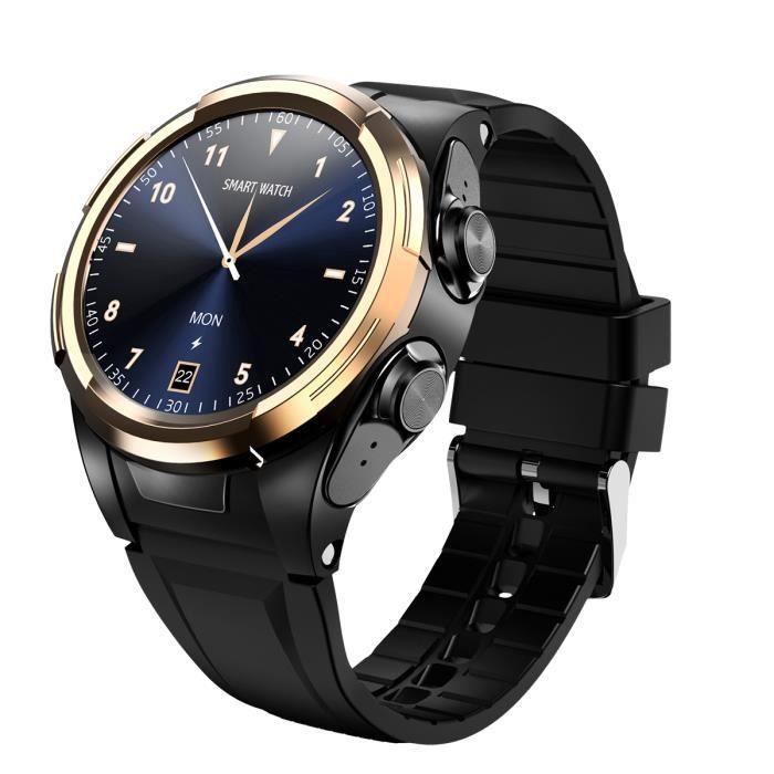 PIMPIMSKY Montre Connectée Homme Femme - Montre Intelligent Fréquence -calories Smart watch Sport +TWS Casque Bluetooth