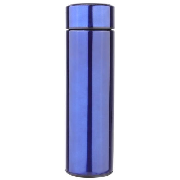 Bouteille d'eau portative d'acier inoxydable de température d'affichage 1PC pour l'école BOUTEILLE ISOTHERME - BOUTEILLE ISOLANTE