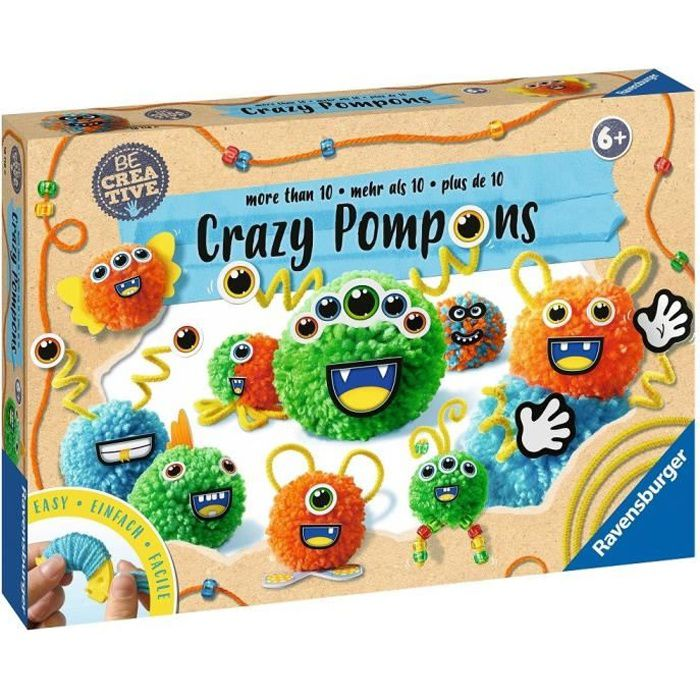 Crazy Pompons