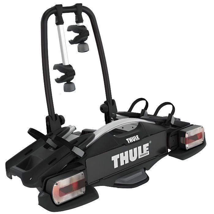 Thule VeloCompact 2 7-pin, Porte-vélos léger et compact pour une utilisation au quotidien (pour 2 vélos)