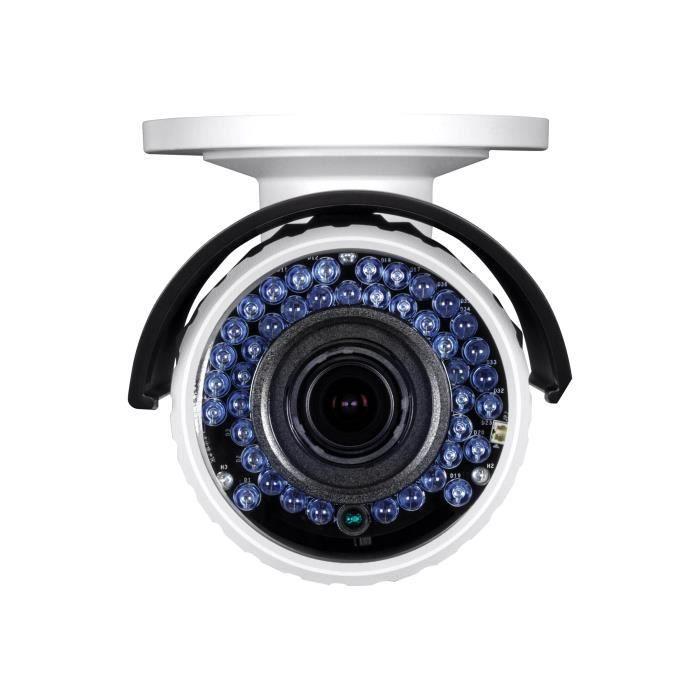 TRENDnet TV IP340PI Caméra de surveillance réseau extérieur résistant aux intempéries couleur (Jour et nuit) 2 MP 1920 x 1080…