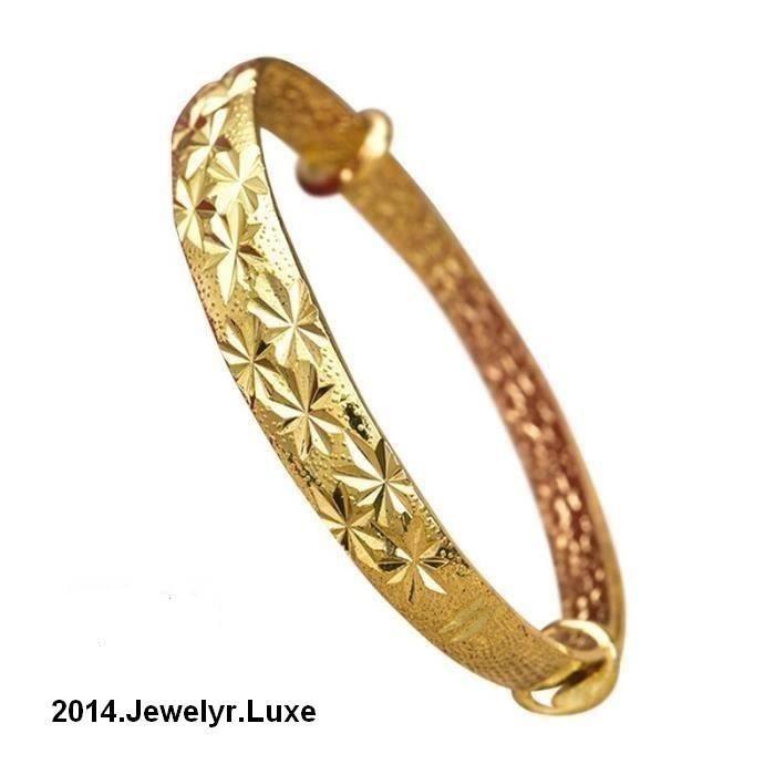 Bracelet femme Plaqué Or jaune