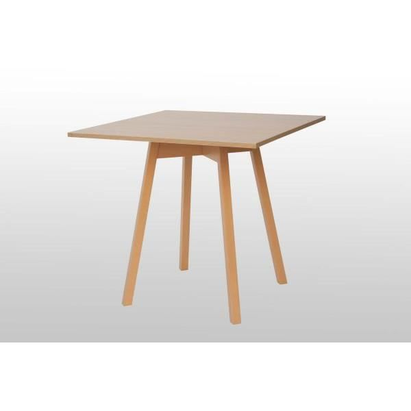 Table en bois de h tre massif dimensions ciel couvert for Table a manger carree bois