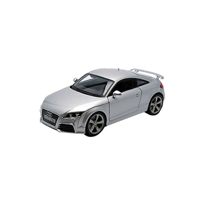 mod le r duit de voiture de sport audi tt rs grise echelle 1 18 5420080427118 achat. Black Bedroom Furniture Sets. Home Design Ideas