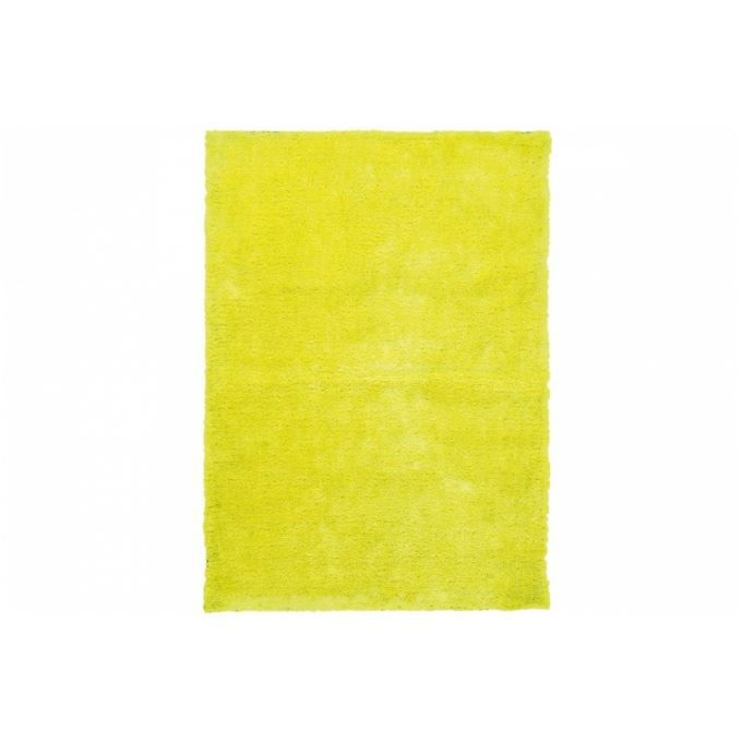 tapis design jaune fluo 80x150 cm achat vente tapis cdiscount. Black Bedroom Furniture Sets. Home Design Ideas