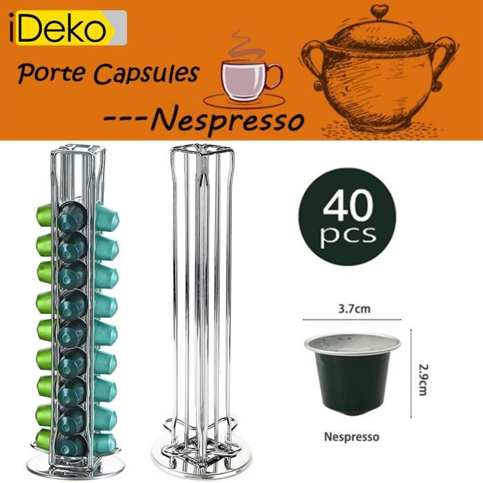 Boite de rangement capsule nespresso - Achat / Vente pas cher