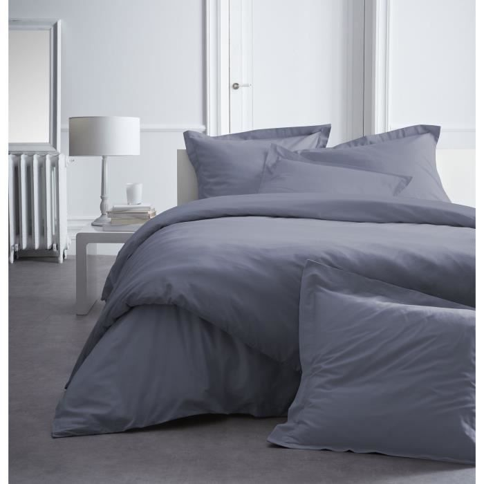 Today premium housse de couette percale 100 coton 1 for Housse couette percale