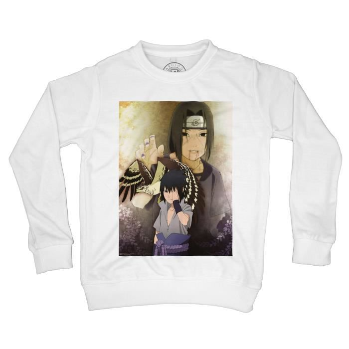 Sweat-Shirt enfant naruto sasuke itachi uchihua manga japan anime