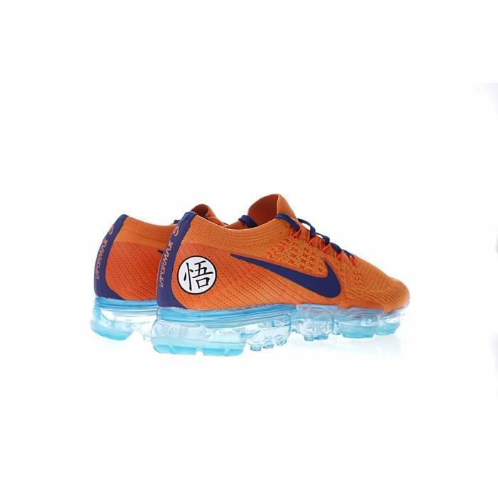 643c25a4e4 Baskets Nike Air Vapormax Flyknit Dragon Ball Z Goku Chaussure de ...