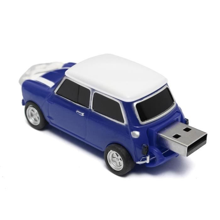 neufu 16gb cl usb 2 0 m moire flash forme mini voiture stockage bleu prix pas cher cdiscount. Black Bedroom Furniture Sets. Home Design Ideas