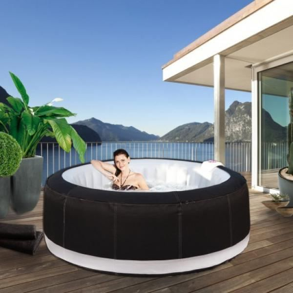 Jacuzzi spa gonflable family 6 8 places achat vente - Jacuzzi gonflable occasion ...