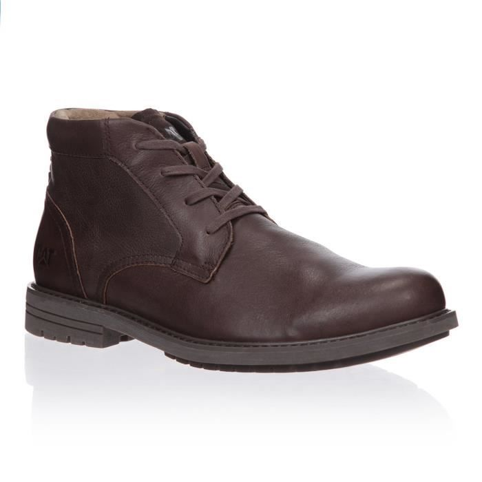CATERPILLAR Bottines Brock Cuir Chaussures Homme