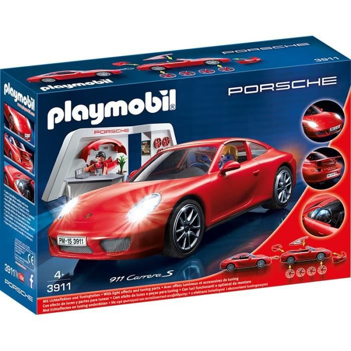 playmobil atelier avec porsche 911 carrera s achat vente voiture enfant cdiscount. Black Bedroom Furniture Sets. Home Design Ideas