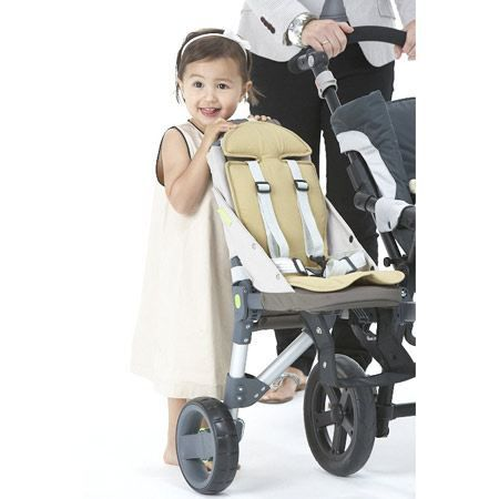 buggypod smorph 2sidecar pour poussette beige achat. Black Bedroom Furniture Sets. Home Design Ideas
