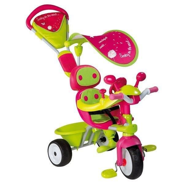 smoby tricycle baby driver confort evolutif de 10 36. Black Bedroom Furniture Sets. Home Design Ideas