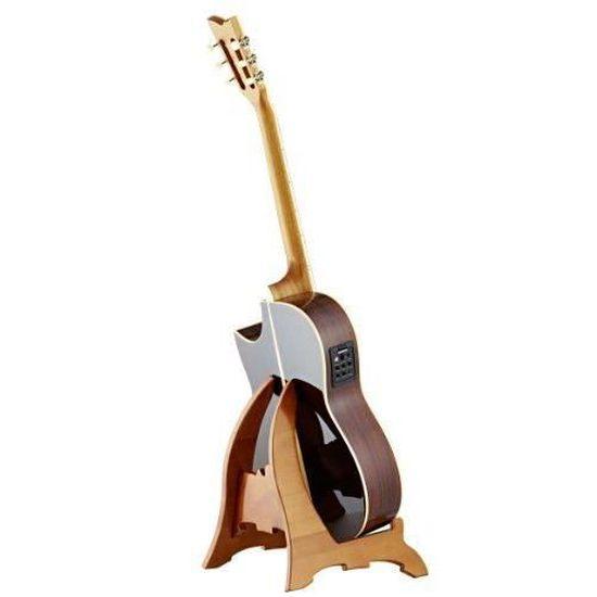Ukulele Hricane Support de Guitare Portable Universel Pieds et Supports Support pour instruments de musique pour Guitares Acoustiques Basse Violon Banjo