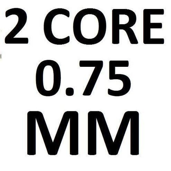 2 ou 3/fils Rouleau complet et longueurs personnalis/ées disponibles R/éf/érences 3182Y Rouleau de c/âble flexible noir C/âble/: 0,75/mm 3183Y 1,0/mm et 1,5/mm