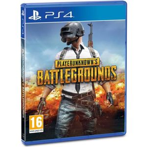 JEU PS4 PlayerUnknown's Battlegrounds - PUBG - Jeu PS4