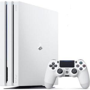 CONSOLE PS4 Console PS4 Pro 1To Blanche/White Glacier - PlaySt
