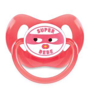 SUCETTE DODIE Sucette +6 Mois Physio Super Bébé Silicone