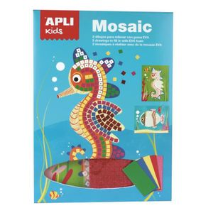 JEU DE MOSAIQUE APLI Kit mosaique en mousse Mer