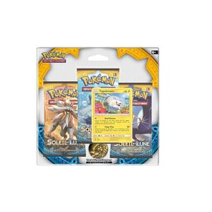 CARTE A COLLECTIONNER Pack 3 boosters Pokémon + Carte Togedemaru - SL 1