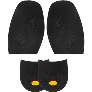 Noir Talons de Chaussures R/éparation de Chaussures Footful 1 Paire Demi-Semelle Avant-pied