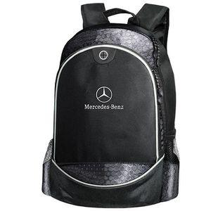 SAC À DOS Mercedes Benz CARBONE UNIQUE Sac à Dos Noir Logo B