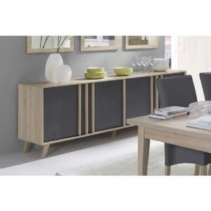 enfilade scandinave achat vente pas cher. Black Bedroom Furniture Sets. Home Design Ideas
