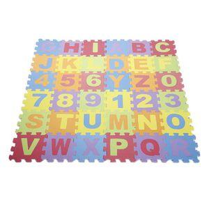 TAPIS PUZZLE Tapis puzzle pour enfant 36pcs