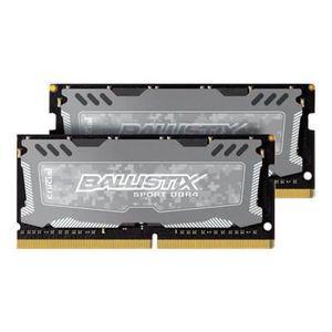 MÉMOIRE RAM BALLISTIX SPORT LT Gris Mémoire PC KIT - DDR4 - 16