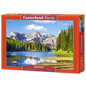 PUZZLE Castorland - C-300198-2 - Puzzle - Dolomites - Lac