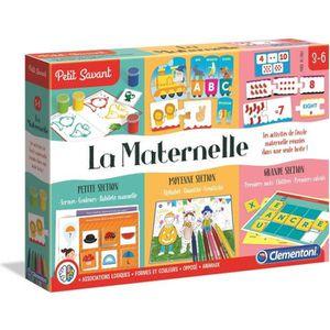 JEU D'APPRENTISSAGE CLEMENTONI Petit Savant - La Maternelle - 3 à 6 an