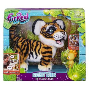 PELUCHE Hasbro B9071100 FurReal Tyler rugissant, le tigre