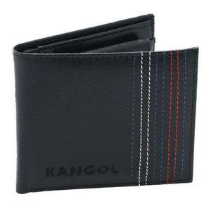PORTEFEUILLE Portefeuille Kangol noir pour homme