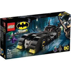 ASSEMBLAGE CONSTRUCTION LEGO® DC Comics Super Heroes 76119 Batmobile™ : la