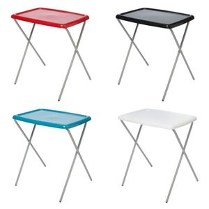 table d appoint pliante - blanc - achat / vente table d'appoint