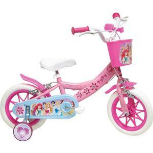 VÉLO ENFANT DISNEY PRINCESSES Vélo Fille rose Enfant 12 pouces