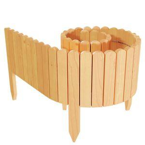 BORDURE Floranica® Bordure déroulable en bois, délimitatio