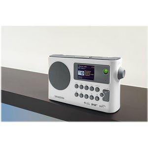 RADIO CD CASSETTE SANGEAN - WFR-28C - Radio Internet, FM-RDS, DAB+,