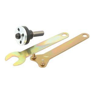 ensemble dadaptateurs de bande de pon/çage Changer la meuleuse dangle /électrique 115//125//150mm en ponceuse /à bande Adaptateur de ponceuse /à bande