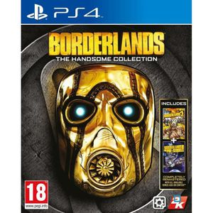 JEU PS4 Borderlands The Handsome Collection PS4