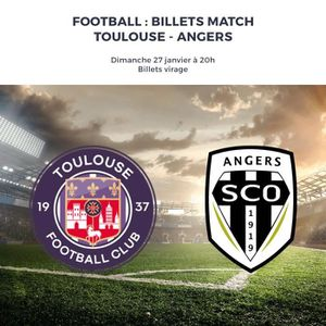 SPECTACLE Billet Toulouse-Angers VIRAGE - 26/01/2019 - Bille