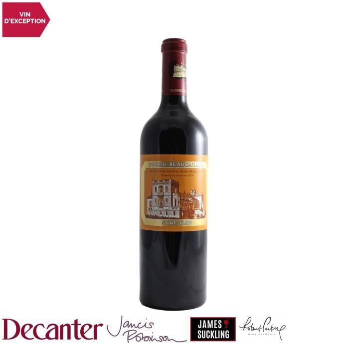 Château Ducru-Beaucaillou Saint-Julien 2ème Grand Cru Classé Rouge 2018 - 75cl - Vin AOC Rouge de Bordeaux - 97-100 Decanter - Cépag