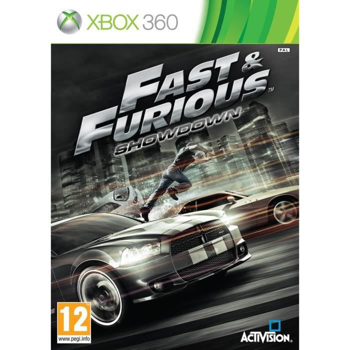 fast and furious jeu console xbox 360 achat vente jeux xbox 360 fast and furious xbox. Black Bedroom Furniture Sets. Home Design Ideas